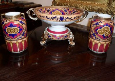 Noritake tazza garniture set