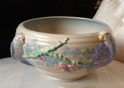 Clarice Cliff love birds bowl