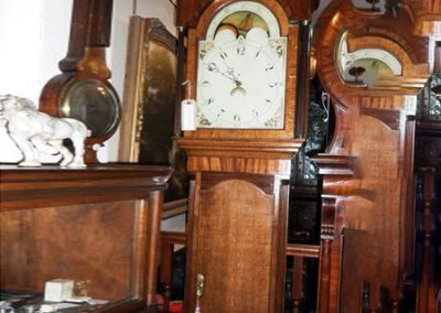 Oak 30hour longcase clock