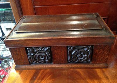 Oak Deed Box