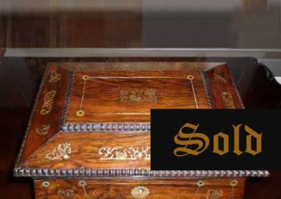 Rosewood sarcophagus SOLD