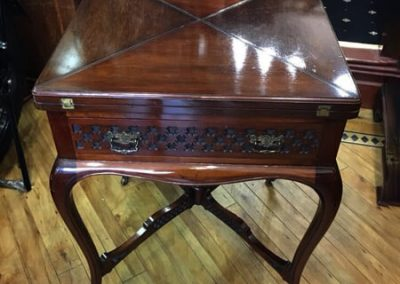Rosewood Game Table